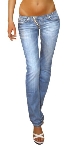58c8b81cccdd Bestyledberlin Jeans taille basse jeans femme niveau hanches ...