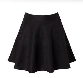 Itas jupe plis femme 4 saisons simple taille unique 3 couleurs noir mode - Taille citronnier 4 saisons ...
