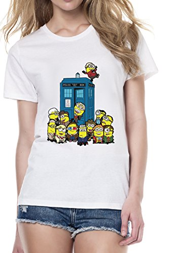 Minions in time space despicable me funny t shirt femme small mode - Very small space of time image ...